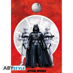 "Poster STAR WARS ""Dark Vador & 2 Troopers"""