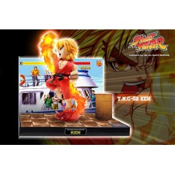 Statuette Street Fighter PVC sonore & LED Ken 22 cm