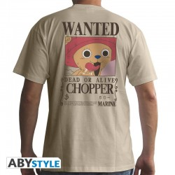 T-Shirt ONE PIECE -Basic Homme Wanted Chopper