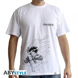 T-Shirt ONE PIECE - Basic Homme Luffy Gear 2