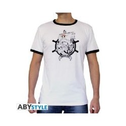 T-Shirt One Piece - Basic Homme Blanc Thousand Sunny Taille
