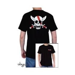 T Shirt One Piece - Basic Homme Noir Shanks Skull