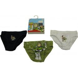 trousse 3 slips toy story kaky (2 à 8 ans)