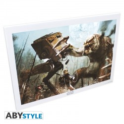STAR WARS Toile Star Wars Rancor (50x70)
