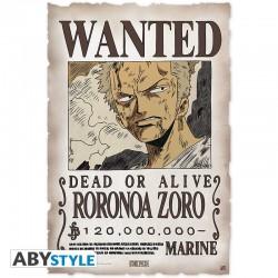 Parchemin ONE PIECE Avis de recherche Zoro