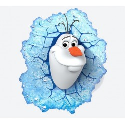 lampe 3D LED Olaf La Reine des neiges
