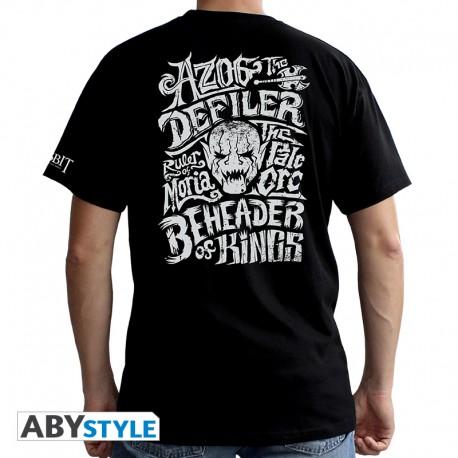"THE HOBBIT - Tshirt ""Azog"" homme MC black - basic"