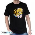 Tshirt dragon ball z DBZ/ Goku Super Saiyan homme MC black basic