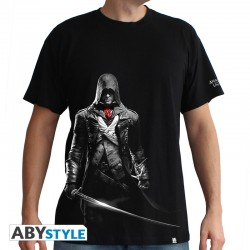 Tshirt assassin's creed Arno homme MC black - basic