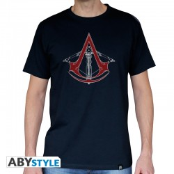 t-shirt assassin's creed AC5 Arbalète homme MC navy