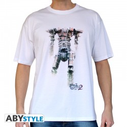 T-shirt Titan Castlevania homme MC white