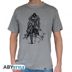 T-shirt Castlevania Trevor Belmont homme MC sport grey