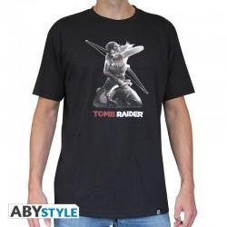 T-Shirt TOMB RAIDER Lara A Genoux Homme