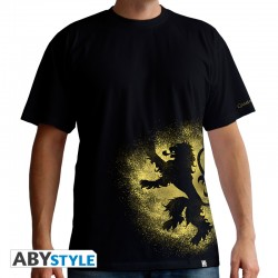 t-shirt game of thrones : Lannister Spray homme mc black