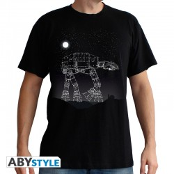 T-Shirt STAR WARS AT-AT STARS