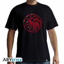 t-shirt game of thrones : Targaryen homme MC black