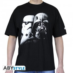 T-Shirt STAR WARS Vador-Troopers Homme
