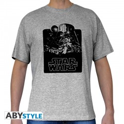 T-Shirt STAR WARS Vintage Homme