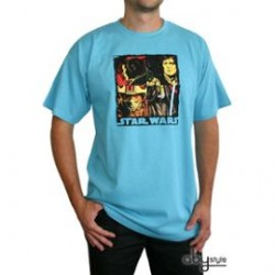 T-Shirt STAR WARS Pop Art Homme