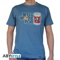 T-Shirt SIMPSON Duff Homme