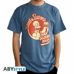 T-Shirt SIMPSON Homer Burger Homme