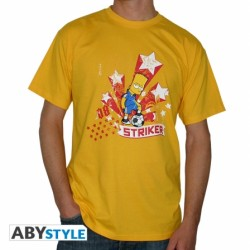 T-Shirt SIMPSON Bart TV Donuts Homme