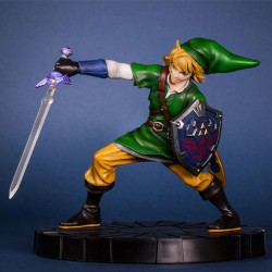 ZELDA Figurine Collector Link en mouvement 24cm