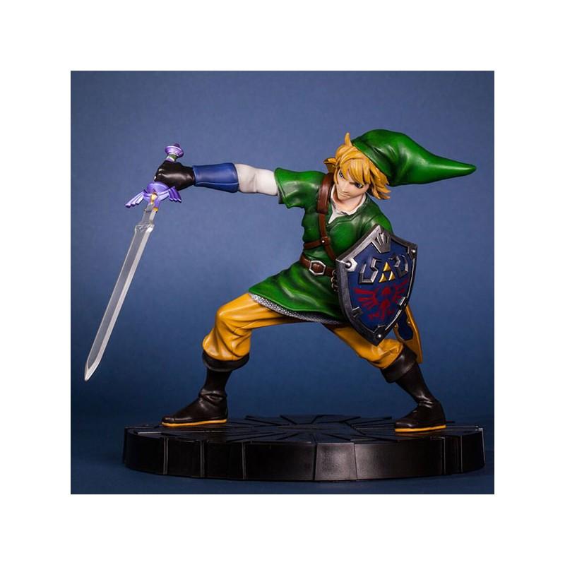 Zelda Figurine Collector Link En Mouvement 24cm Dvfstore Com