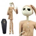 NIGHTMARE BEFORE CHRISTMAS - Figurine Jack Pyjama Coffin Ver Ltd Ed.!