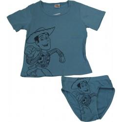 ensemble tshirt+slip toy story bleu (2 à 8 ans)