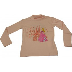 t-shirt belle au bois dormant rose (de 2 à 6 ans)