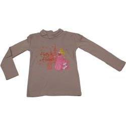 t-shirt belle au bois dormant mauve (de 2 à 6 ans)
