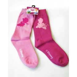 lot 2 paires chaussettes disney princess