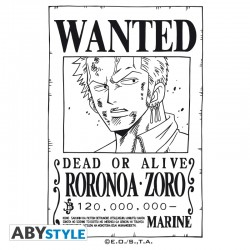 Verre ONE PIECE Zoro Wanted
