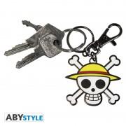 Porte-clés One Piece Skull Luffy