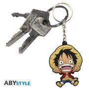 Porte-clés One Piece PVC Luffy SD