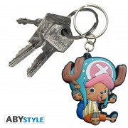 Porte-clés One Piece PVC Chopper SD