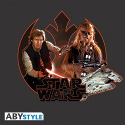 Sac Besace Star Wars Han Solo et Chewbacca