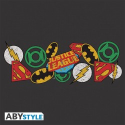 Sac Besace Justice League Logos DC