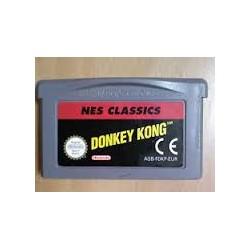 donkey kong nes classic gamboy advance