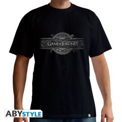 "Tshirt GAME OF THRONES ""Opening Logo"" homme MC black - basic"