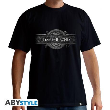 "Tshirt GAME OF THRONES ""Opening Logo"" homme MC black - basic"