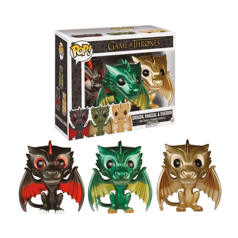 Figurines Game Of Thrones Drogon Rhaegal Amp Viserion
