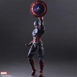 Figurine Marvel Universe variant Play Arts Kai Captain America