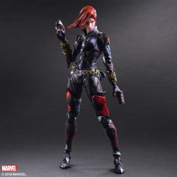Figurine Marvel Universe Variant Play Arts Kai - La veuve noire