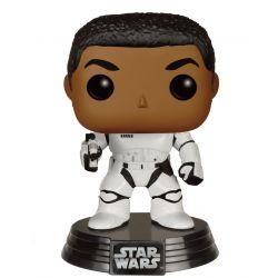 Figurine STAR WARS POP! Vinyl Bobble Head Stormtrooper Finn With Blaster 9 cm
