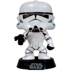 Figurine Star Wars POP! Vinyl Bobble Head Clone Trooper Black Box Re-Issue 9 cm