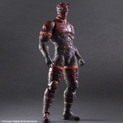 Figurine Metal Gear Solid V the Phantom Pain Play arts Kai - Man on fire