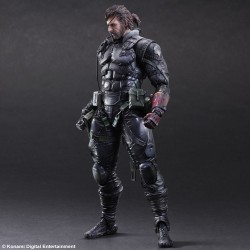 Figurine Metal Gear Solid V The Phantom Pain Play Arts Kai - Snake Sneaking suit