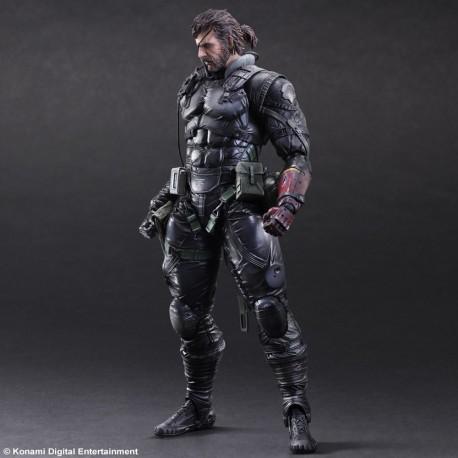 Figurine Metal Gear Solid V The Phantom Pain Play Arts Kai - Snake Sneaking suit